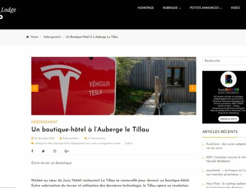 HotelLodgePro talks about Le Tillau