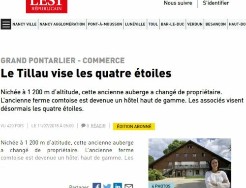 The Tillau aims 4 stars – Est Républicain