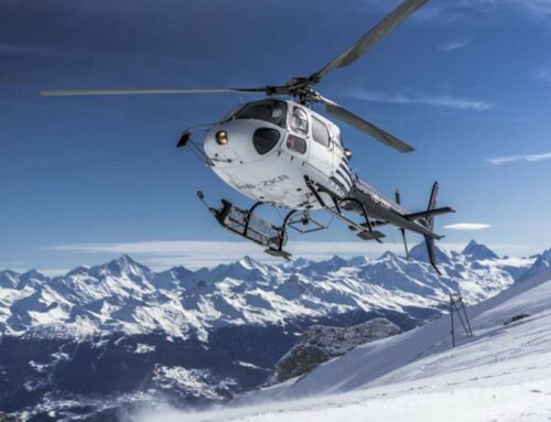 Go to the Alps from Le Tillau by helicopter