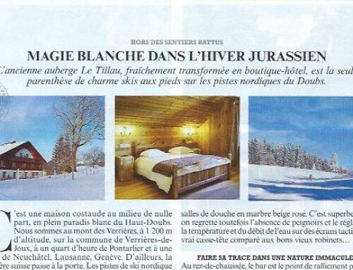 Le Tillau highlited in Le Figaro Magazine